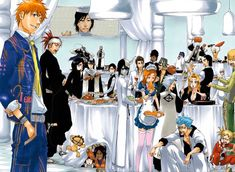 Bleach 456 - Read Bleach Chapter 456 This s my favorite picture ever! i've been looking for it for a while now! Bleach Fanart, Bleach Manga, Bleach Characters, Manga Characters, Naruto Uchiha, Manga Anime, Anime Art, Bleach Funny, Bleach Color