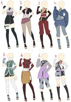 [Closed]Naruto Outfit takes charge of AzaHana Charge 1 on DeviantArt - . - [Closed] Naruto Outfit takes charge of AzaHana Charge 1 on DeviantArt – - Arte Fashion, Ideias Fashion, Fashion Design Drawings, Fashion Sketches, Character Outfits, Character Art, Ninja Outfit, Anime Ninja, Drawing Anime Clothes