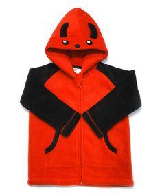 Love this Red Devil Fleece Zip-Up Hoodie - Toddler & Kids by crazyheads® kids on #zulily! #zulilyfinds