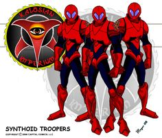 Synthoid Troopers by on DeviantArt