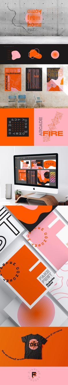Gefälschtes Festbranding · C O N C E P T – branding & identity - Lebenslauf Corporate Design, Corporate Branding, Brand Identity Design, Graphic Design Branding, Typography Design, Packaging Design, Logo Branding, Brand Design, Brochure Design