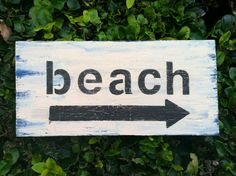 This Way to the Beach Sign