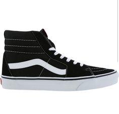 Vans - SK8 high - Black Black White