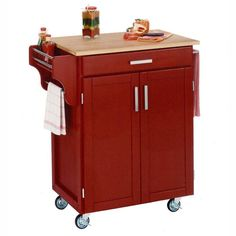 Home Styles Design Your Own Small Kitchen Cart Wood - 9001-0041