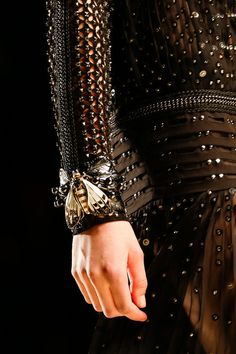 Prettylittlepez:  detail at Roberto Cavalli Fall/Winter 2013 | MFW