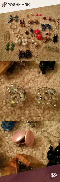 BOGO - 15 + Vintage Earrings Buy One Item and Get ONE Item FREE. FREE items same value or LESS  Very Simple....  BUNDLE BOTH ITEMS AND OFFER ME THE PRICE OF THE MOST EXPENSIVE....  Excludes Mannequins.... Jewelry Earrings
