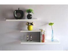 arc edge wall shelf more kinds of color for choose floating wall shelves display ledge16x6x0