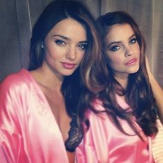 Miranda Kerr And Barbara Palvin