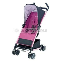 Stroller Bebe Confort Noa to 169 € instead of 179 €!  Noa is easy to maneuver thanks to four small wheels and front suspension. It opens and closes with one hand!  Closed remains in a vertical position, it fits easily and can be transported easily thanks to the special retractable handle.  The backrest is adjustable in 2 positions and a practical basket is very large.  Available in different colors!  http://www.lachiocciolababy.it/bambino/pink-5179.htm