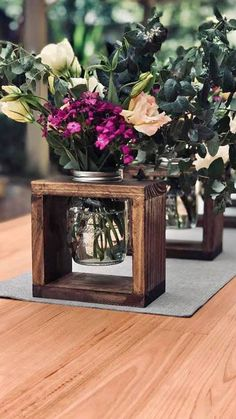 home decor inspo Diy Wood Projects, Wood Crafts, Diy And Crafts, Wedding Centerpieces, Wedding Decorations, Table Decorations, Wedding Ideas, Creation Deco, Deco Table
