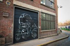 Gis y pintura pastel para crear arte urbano-  Philippe Baudelocque