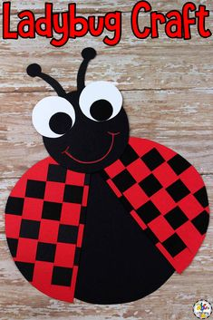 Are you looking for an engaging and entertaining craft to make this Spring? Not only is this Paper Weaving Ladybug Craft for kids fun but your children will also be working on developmental skills as they create too. Click on the picture to learn how to make this craft! #craftsforkids #ladybugcraft #finemotorskills #finemotoractivity #preschool