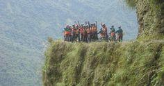 Mountain Biking down the World's Most Dangerous Road in Bolivia