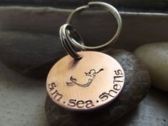 Swimming Mermaid  Keychain by patsdesign on Etsy