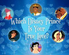 QUIZ: Which Disney Prince Is Your True Love ( I got Flynn Rider! Or Eugene... Lol)