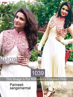 Parineeti White Replica Suit from HD Bazaar