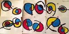 Alexander Calder spirales graphisme grande section maternelle