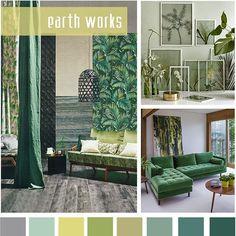 #DesignOptions СС18 цвет доклад о #WeConnectFashion, дома настроение: земляные работы.