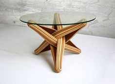 New Bamboo Coffee Table by J.P.Meulendijks