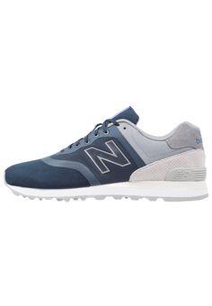 New Balance MTL574DA Sneaker low blue/grey Schuhe bei Zalando.de   Obermaterial: Leder/Synthetik, Innenmaterial: Textil, Sohle: Kunststoff, Decksohle: Textil   Schuhe jetzt versandkostenfrei bei Zalando.de bestellen!