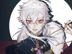 Oc Drawings, Dark Anime, Character Art, Anime Eye Drawing, Character Inspiration, Cute Anime Character, Anime People, Vampire Boy, Anime Demon Boy