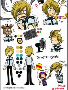 Jeremy by pole bear on tumblr Are you sure that's not Pewdiepie? XD