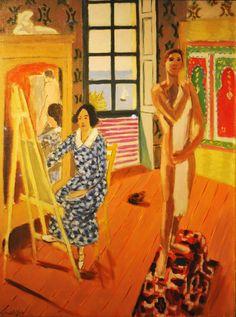 Henri Matisse - The Three O'Clock Sitting, Oil on canvas. The Metropolitan Museum of Art Henri Matisse, Matisse Kunst, Matisse Art, Matisse Paintings, African Origins, Frida Art, Raoul Dufy, Illustration Art, Illustrations