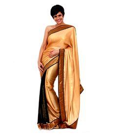 Mandira Bedi Black Silk Saree, http://www.snapdeal.com/product/mandira-bedi-black-silk-saree/669588850920