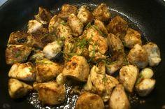 Escalopes de Poulet au Citron Vert et Cumin / Chicken Cutlets with Lime and Cumin