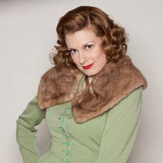 Vintage 1950s Mink Fur Collar #vintage #autumnhaze #collar #1950s #1960s #madmen @Etsy