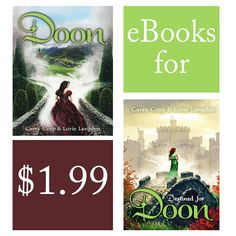 For a limited time...the first two Doon ebooks are $1.99!