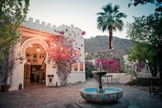 Wedding Venue and/or Honeymoon tip:  Korakia Pensione, Palm Springs - The Wedding Artists Collective
