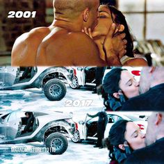 16 years later and he still holds her face when they kiss... So cute! • #domandletty #thefastandthefurious #lettyortiz #dominictoretto #lettytoretto... - Dᴏᴍ ᴀɴᴅ Lᴇᴛᴛʏ (@mrandmrstoretto)