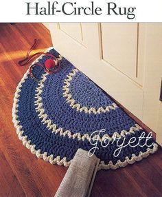 Argyle Bean Bag Ottoman Free Crochet Pattern From Red