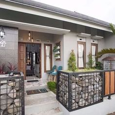 Have a good Saturday vibes. Home Room Design, Small House Design, Industrial House, Scandinavian Home, Diy Garden Decor, House Front, Minimalist Home, House Rooms, Home Interior