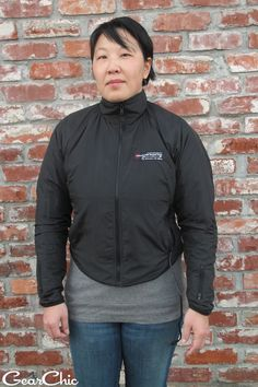 """GearChic's Joanne on the #FirstGear Heated Liner: """"Wearing a heated liner gives me the freedom to ride to on days that I never would have considered before. With my Ventura jacket, it's the perfect layer underneath the wind/water liner on that jacket."""""""