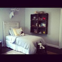 Ready to Ship! Solid Wood Headboard.  You Pick Finish. Pick up This Weekend! Toddler Rooms. Kid's Rooms! on Etsy, $140.00