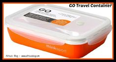 Thinksport GO Travel Container Product Review & Giveaway!! (ends 2/7)