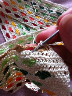 Crochet Hearts Stitch - Chart