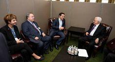 Ο Έλληνας πρωθυπουργός προσκάλεσε τον Παλαιστίνιο ομόλογο του κάποια στιγμή να επισκεφτεί την Ελλάδα. Συνά Cyprus News