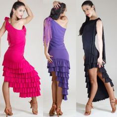 latin and smooth ballroom dresses | ... dance wear, ballroom dance shoes, latin dance skirts & Salsa dresses