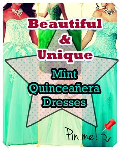 Quinceaneras aren't only historically significant, they offer young ladies an opportunity to celebrate their heritage via fashion, beauty, detailed rituals. Mint Quinceanera Dresses, Different Patterns, Dress First, Young Women, Special Day, Make It Yourself, Unique, Opportunity, Fashion Beauty