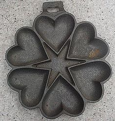 What are rosette cast iron molds?
