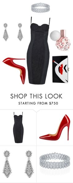 """""""Untitled #7"""" by alwaysdreaming16 ❤ liked on Polyvore featuring Dolce&Gabbana, Christian Louboutin, Lagos and Charlotte Olympia"""