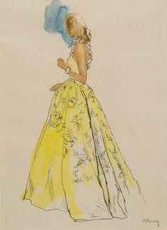 Modele Madame Carven by Bernard Blossac