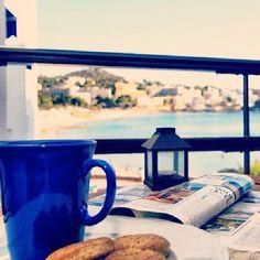 ¿Desayuno con vistas en nuestra #casadeldía? www.fincasfiol.com/santa-ponca