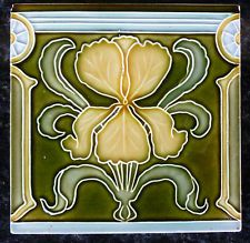 Adams cartlidge c1912 rs1005 art nouveau tiles art for Art nouveau tile mural