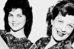 Priscilla and her Mom in Germany 1961