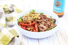 Pulled Pork Taco Salad (Homemade Paleo Chipotle Salad)