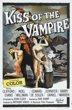Kiss of the #Vampire (1963) #hammer #horror